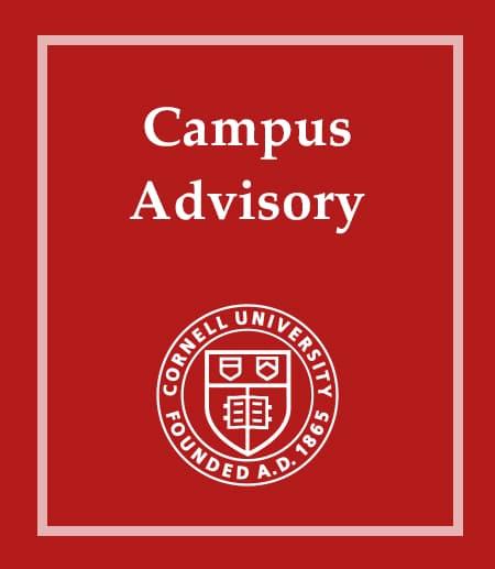 Cornell Campus Advisory