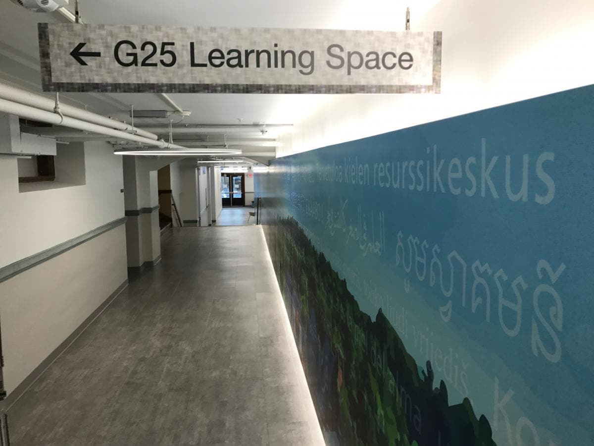 Sign to G25 Learning Space