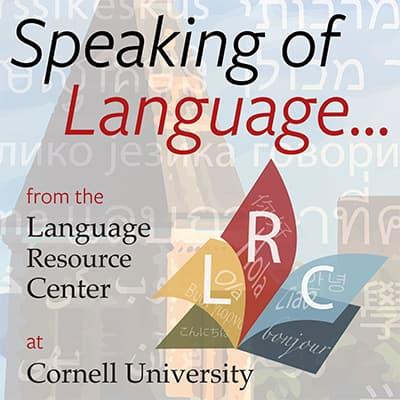 Speaking of Language Podcast logo